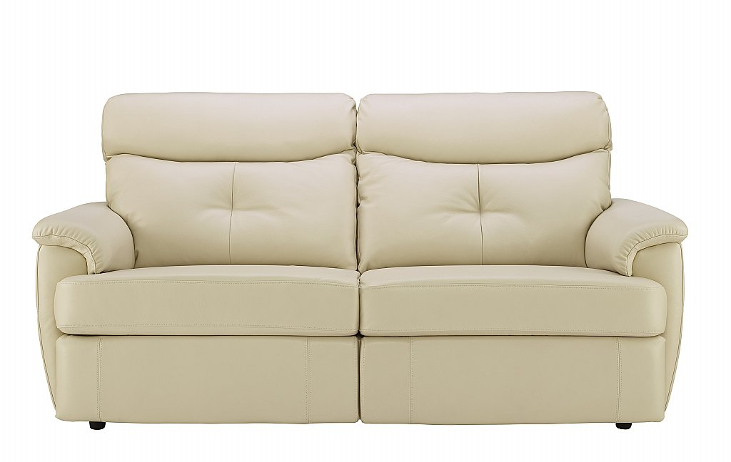 g plan upholstery atlanta 3 seater leather sofa