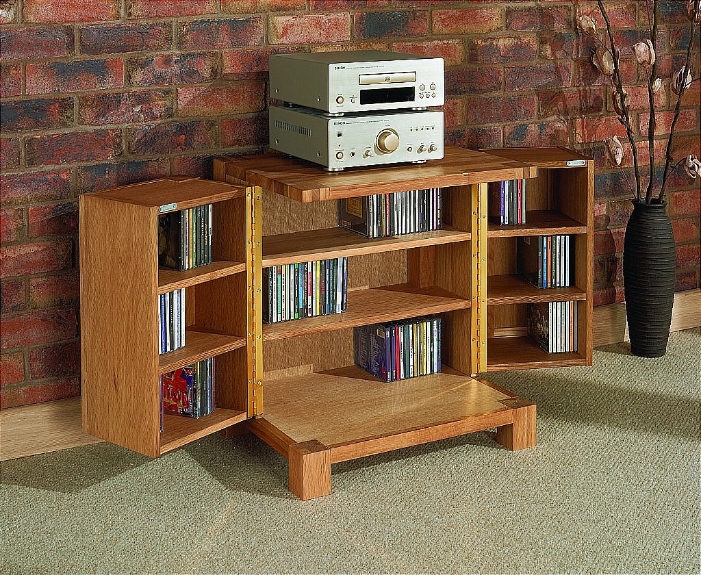 Superb Product Information. This Attractive CD Storage Unit From The Royal Oak ...