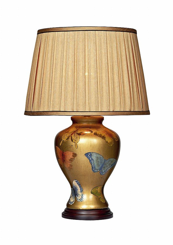 dar lighting joy butterfly table lamp gold base only. Black Bedroom Furniture Sets. Home Design Ideas