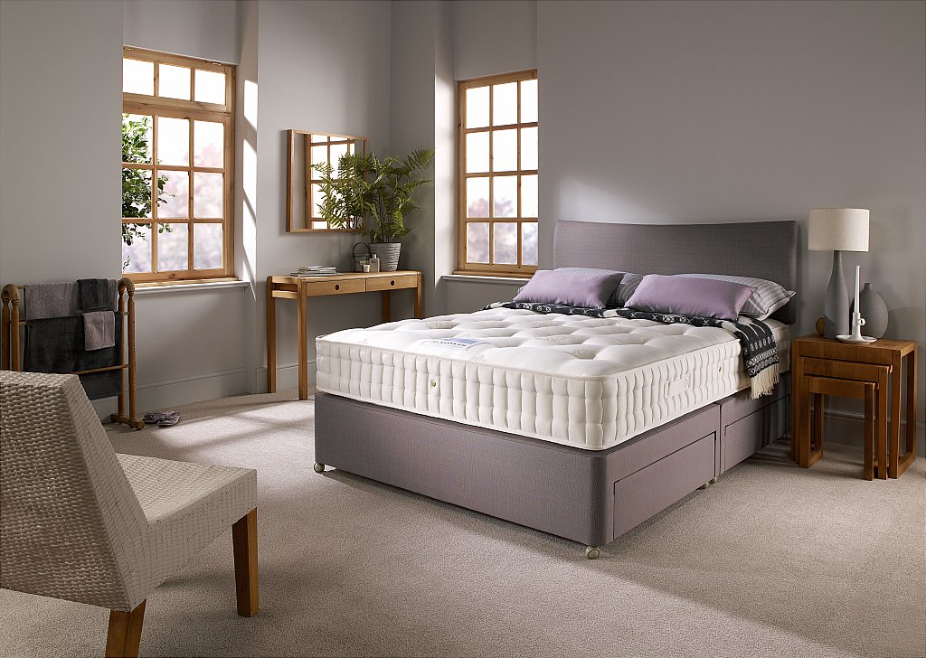 Harrison Beds Beech Divan Set