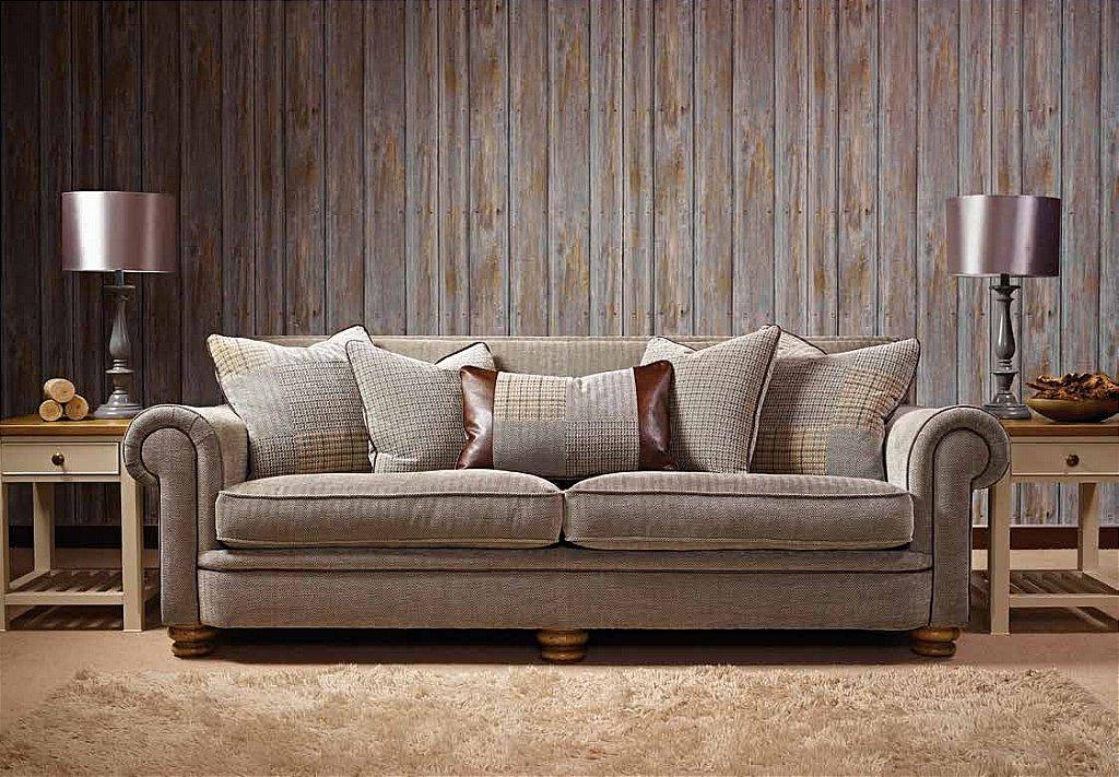 Rupert Large Pillow Back Sofa