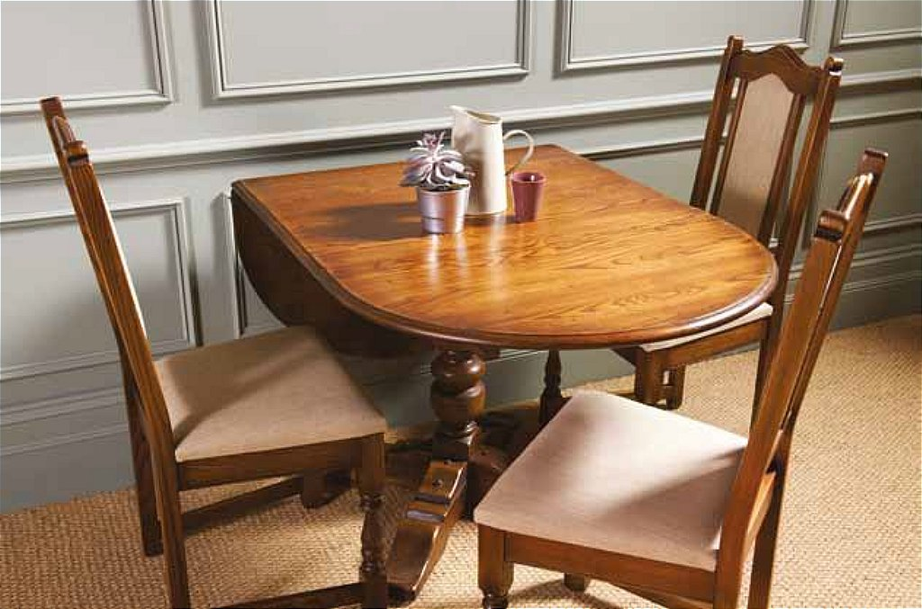 Wood bros old charm amberley drop leaf dining table for G plan heritage dining room furniture