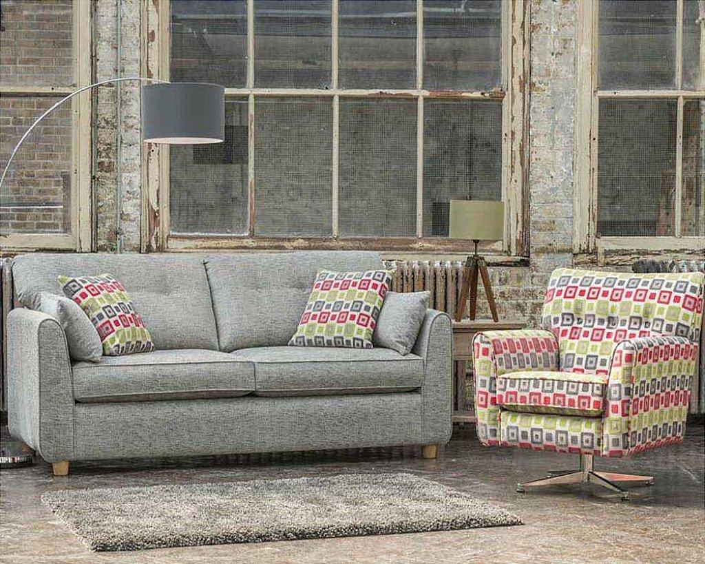 Marshalls Collection Pandora Sofa And Swivel Chair