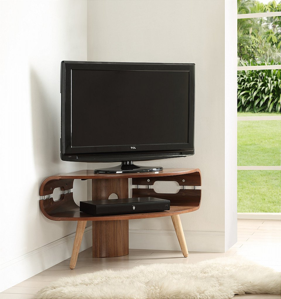 Jual Jf700 Small Corner Tv Stand # Meuble Tv Separation Piece