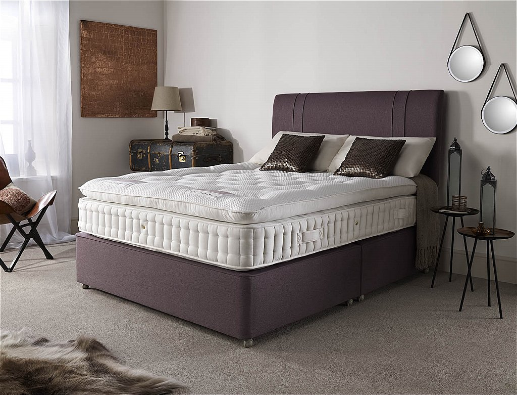 Drapers Furnishers Harrison Beds Kohilo 5750 Double Comfort Divan Bed