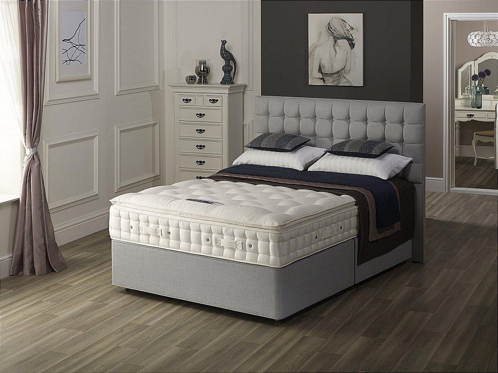 Hypnos nimbus divan for Low divan beds