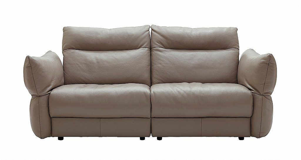 G Plan Upholstery Tess 3 Seater Leather Sofa