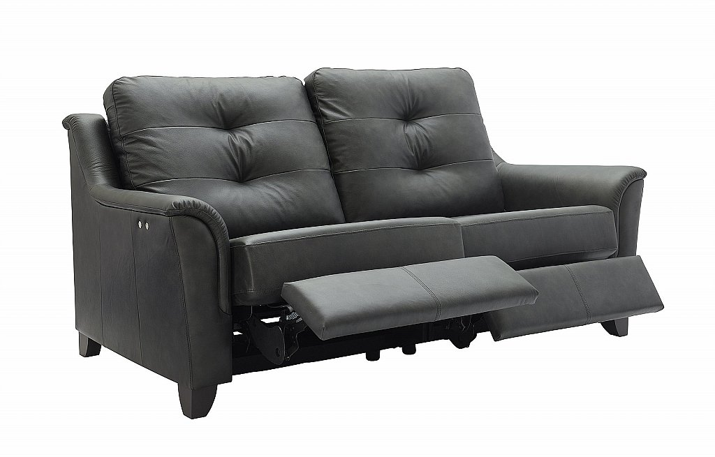 G Plan Upholstery Hepworth 3 Seater Leather Recliner Sofa