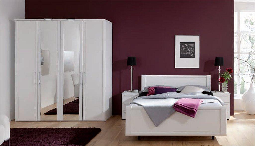 nolte limone bedroom in polar white. Black Bedroom Furniture Sets. Home Design Ideas