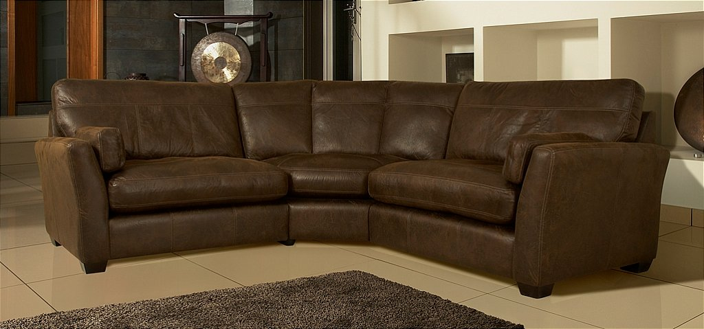 Whitemeadow - Statesman Leather Corner Sofa. Click For Larger Image