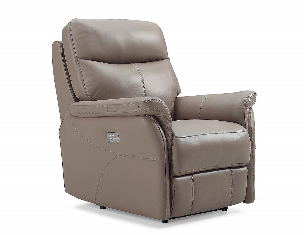 hydeline verona leather recliner chair