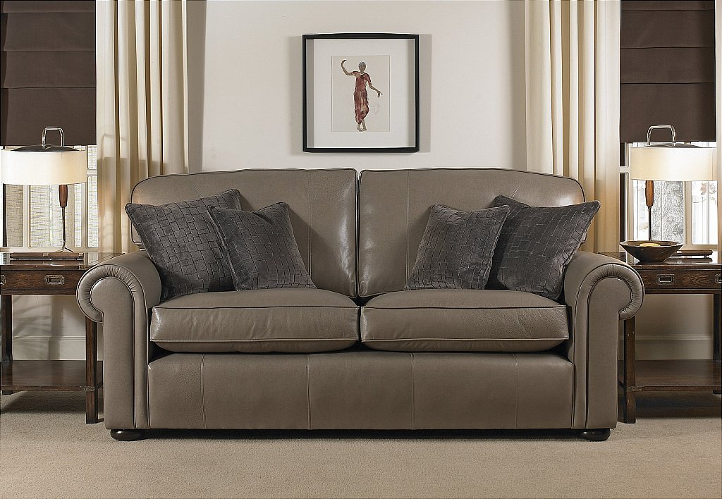 Wade Upholstery Berrington Leather Sofa