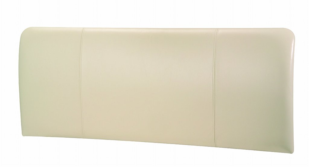 28 cream leather headboard romeo cream faux leather headboa