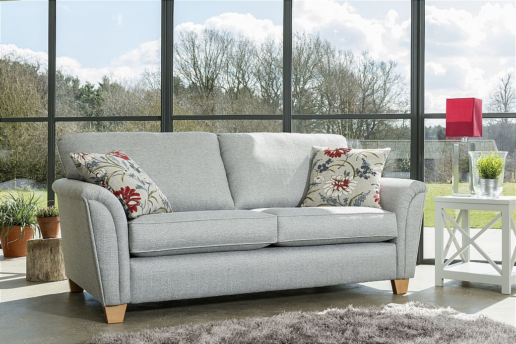 barkers collection andorra 3 seater sofa