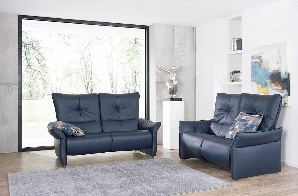 himolla brent cumuly leather recliner suite. Black Bedroom Furniture Sets. Home Design Ideas