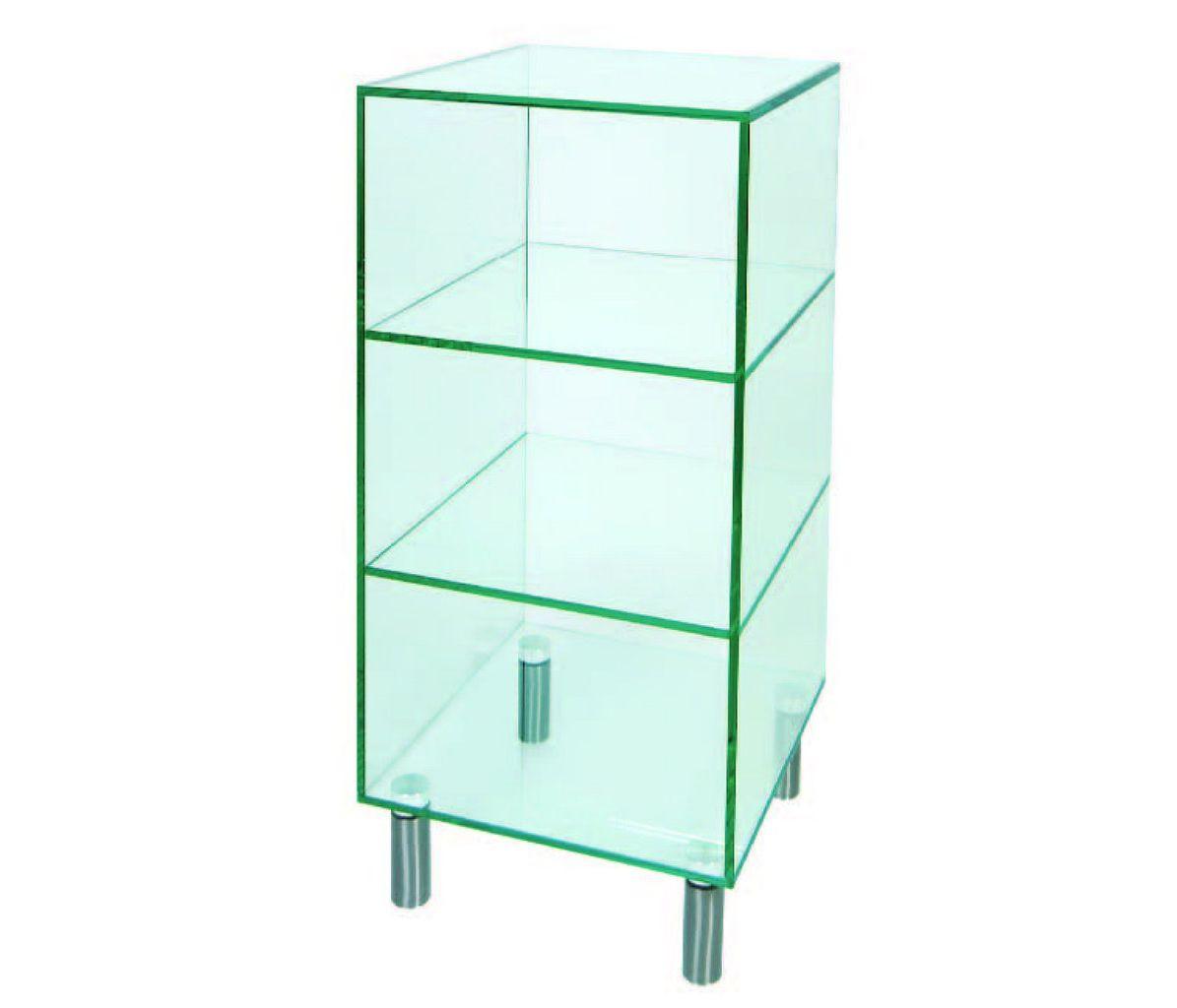 green apple glass glass shelf unit small. Black Bedroom Furniture Sets. Home Design Ideas