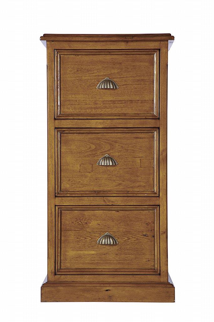 Vale Furnishers Somerset 3 Drawer Filing Cabinet