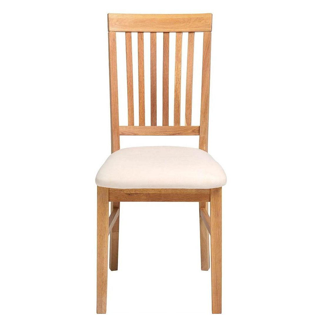 Vale Furnishers Vale Oak Fabric Dining Chair