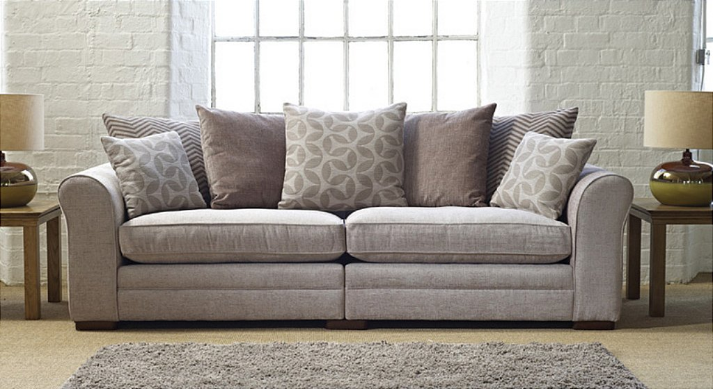 Drapers Furnishers Ashley Manor Seville 2 Fabric Sofa