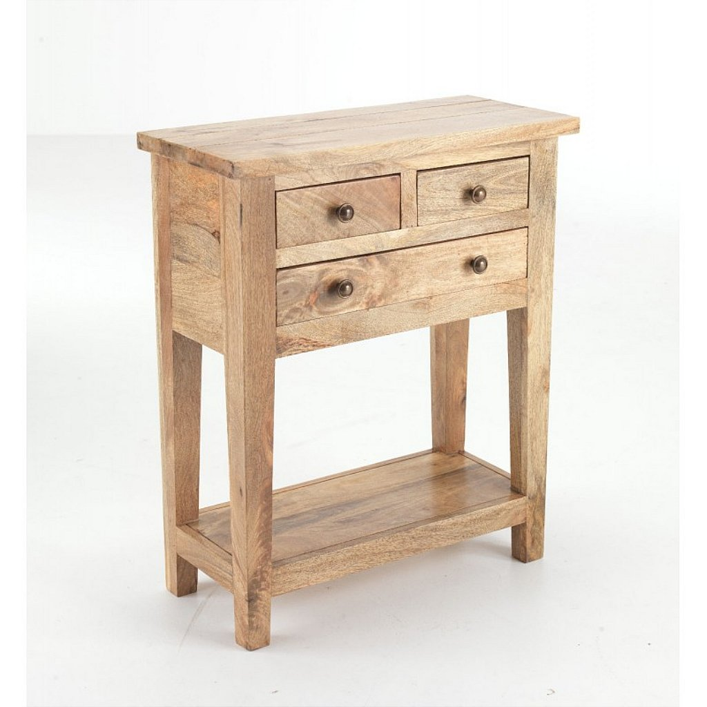 by telephone furniture handcrafted oak table zinc indigo