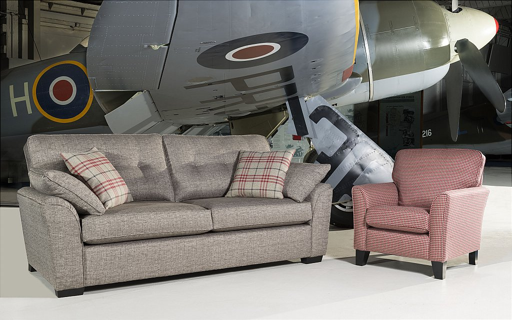 Upholstery Tempest Seater Sofa - Alstons bedroom furniture stockists