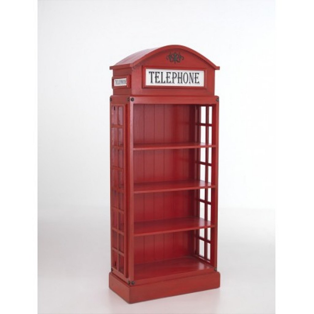 Mariner Vintage Telephone Bookcase # Meuble Tv Colonial