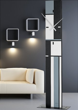 Verity Modern Floor Clock