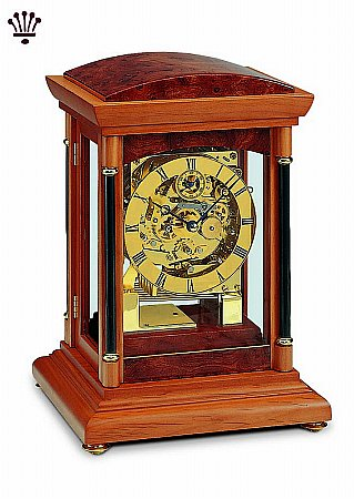 Bradley Mantel Clock - Yew