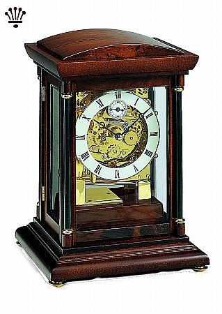 Bradley Mantel Clock - Walnut