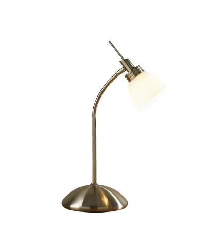 Agean Touch Table Lamp in Antique Brass