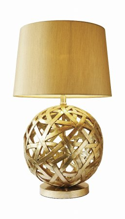 Balthazar Table Lamp complete with Gold Shade