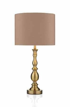 Madrid Ball Table Lamp in Antique Brass