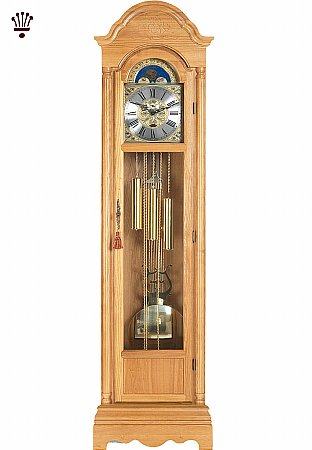 Cavendish Grandfather Clock - Oak