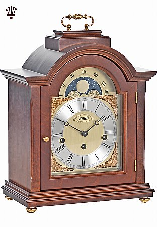 Linton Mantel Clock - Walnut