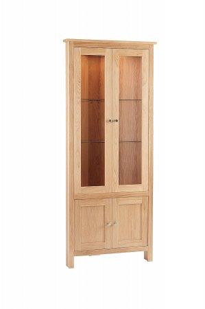 Nimbus Corner Glazed Display Cabinet