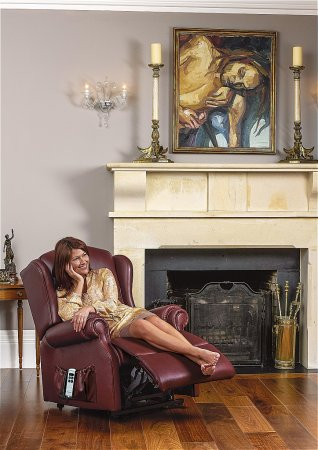 Claremont Leather Recliner Chair