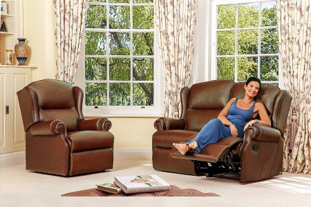 Claremont Leather Suite