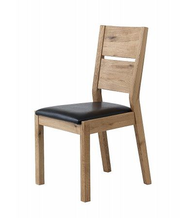 Florence Dining Chair with Leather Seat