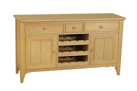 New England Sideboard with Wine Rack