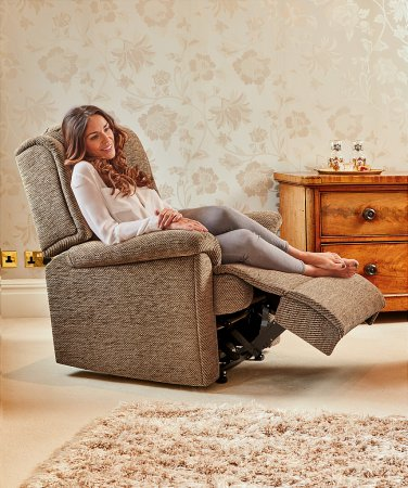 Olivia Fabric Recliner Chair