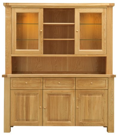 Bretagne 3 Door Dresser Top with Light