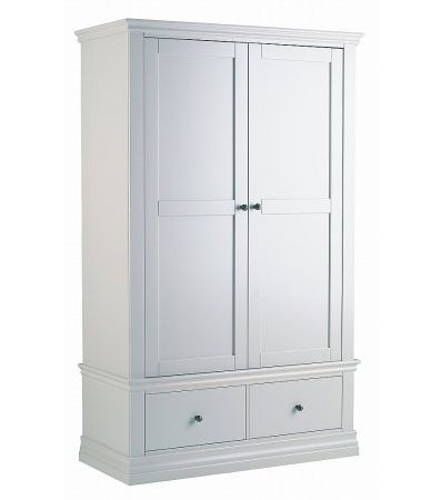 Annecy  Double Wardrobe with 2 Drawers