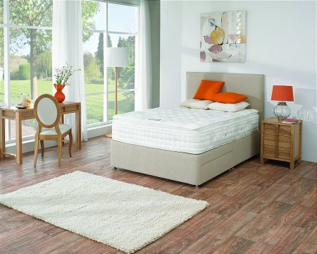 Mercury Luxury Divan Bed