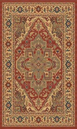 Ziegler 8788 Red Rug