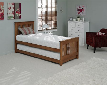 Juno Guest Bed in Oak