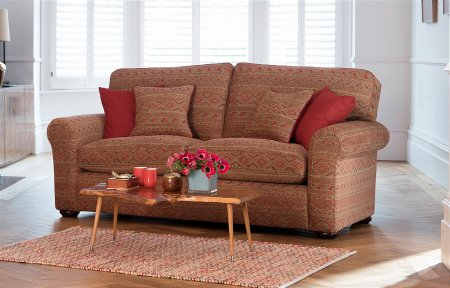 Newark Large 2 Seater Formal Back Sofa