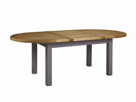 Bretagne 176cm Oval Extending Butterfly Table