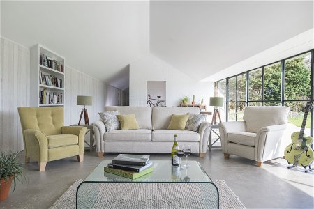 Barcelona 3 Seater Sofa and Chairs
