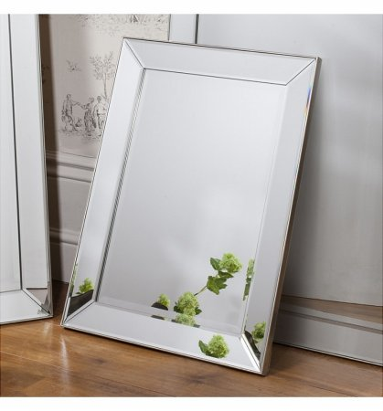 Mirror Baskin Bevelled Rectangular