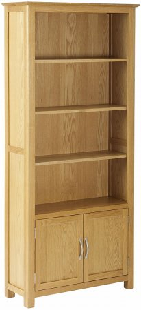 Huxley Bookcase with Cupboard